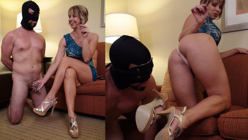 Foot Slave Audition – Slave Chris